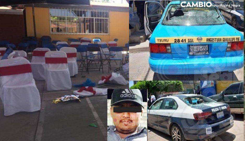 Grupo armado saquea casa de Juan Herrera, líder del CJNG ejecutado por Los Rojos en Kínder de Acatlán  (VIDEO)