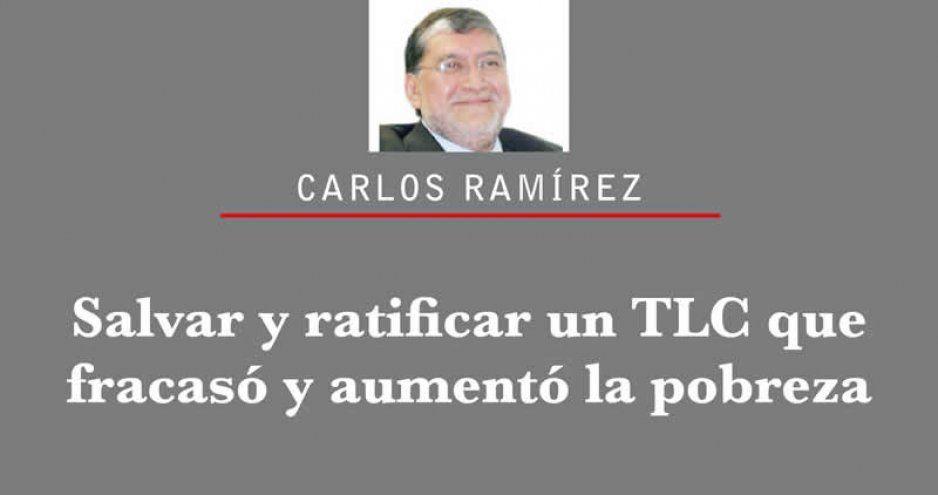 Salvar y ratificar un TLC que fracasó y aumentó la pobreza