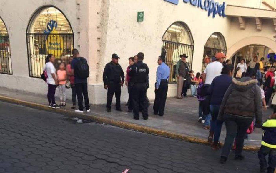 Ocurre robo al interior de tienda Coppel de Atlixco