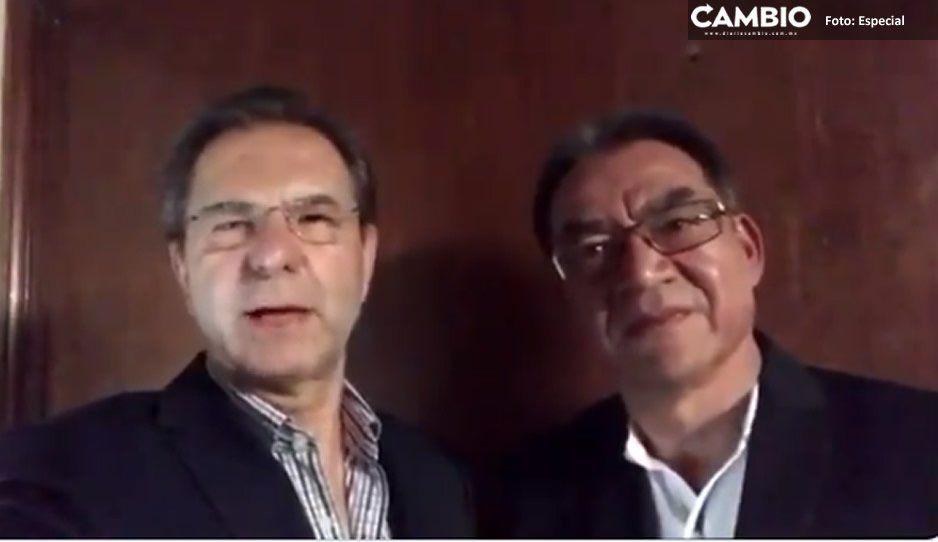 Se reúnen titular de la SEP en Puebla con Esteban Moctezuma para impulsar el sector educativo