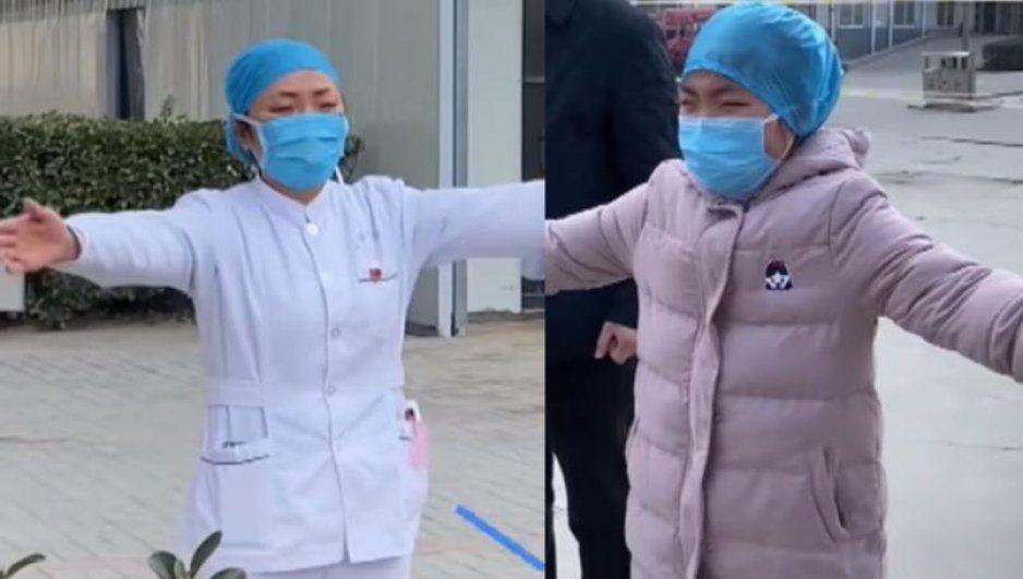 Estoy luchando con un 'monstruo': Enfermera que trabaja con Coronavirus se despide de su hija (VIDEO)