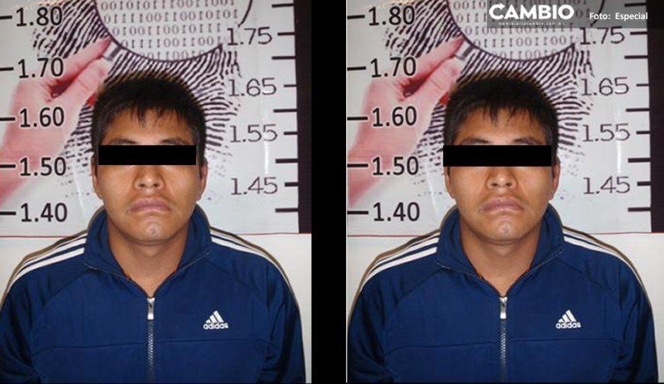 El Grillo fue detenido por lépero a bordo de un Camaro sin placas en San Francisco Totimehuacán