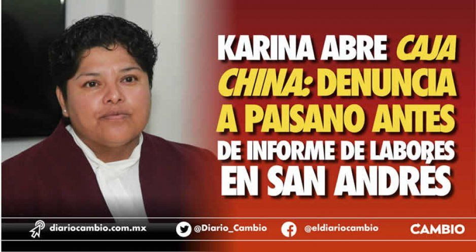 Para poder informar algo, Karina Pérez denuncia a Leo Paisano (VIDEOS)