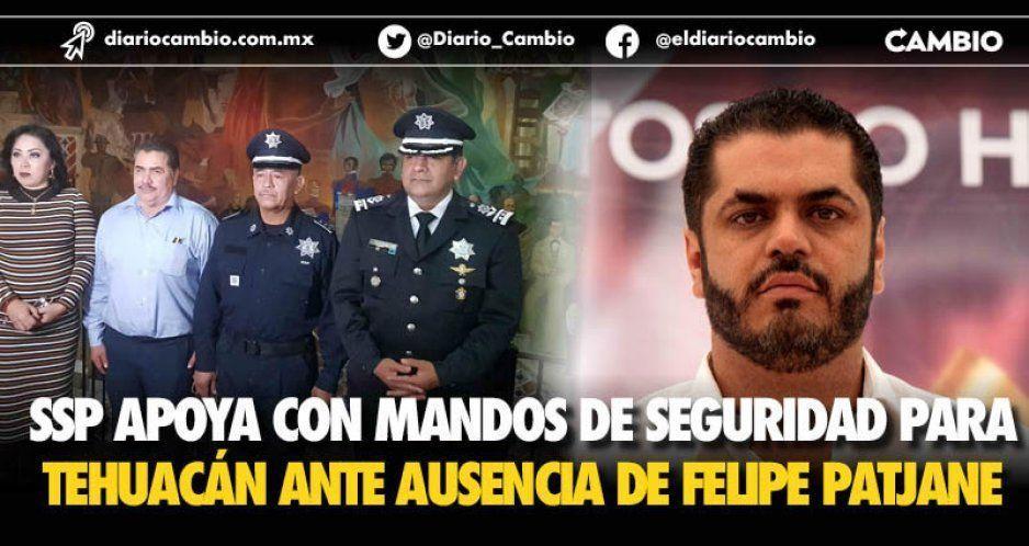La SSP envía mandos de Seguridad a reforzar Tehuacán ante la fuga de Felipe Patjane