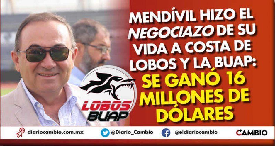 Gracias a Lobos y la BUAP, Mendívil hizo el nego de su vida: se lleva 16 millones USD