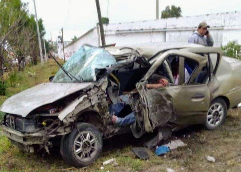 Por ir a exceso de velocidad, muere conductor en Huejotzingo