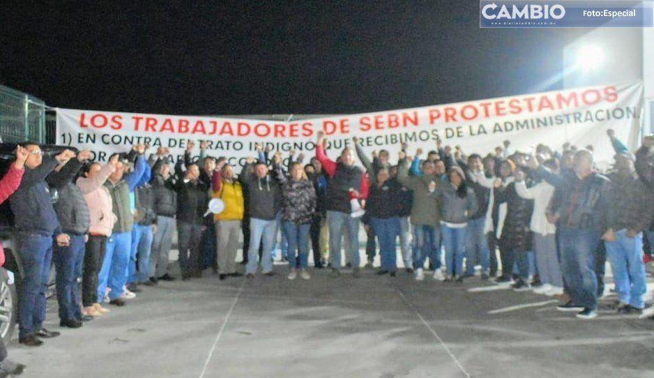 Más de mil trabajadores de la planta SEBN se van a paro laboral en Atlixco