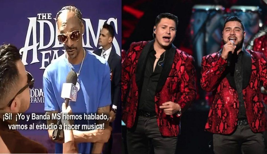 Snoop Dogg confirma que cantará Tu Postura con la Banda MS (VIDEO)