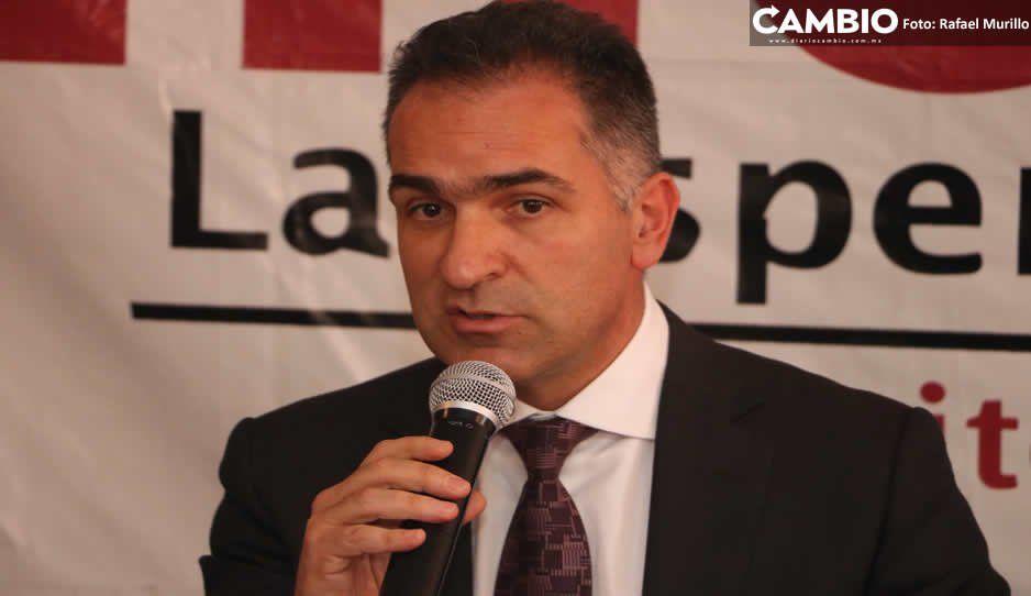 Líder de Morena advierte de mañosos que engañan a poblanos con afiliaciones falsas