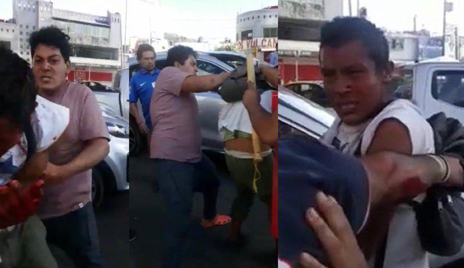 Andy Ruiz de Amalucan frena a puñetazos a rata roba celulares (VIDEO)