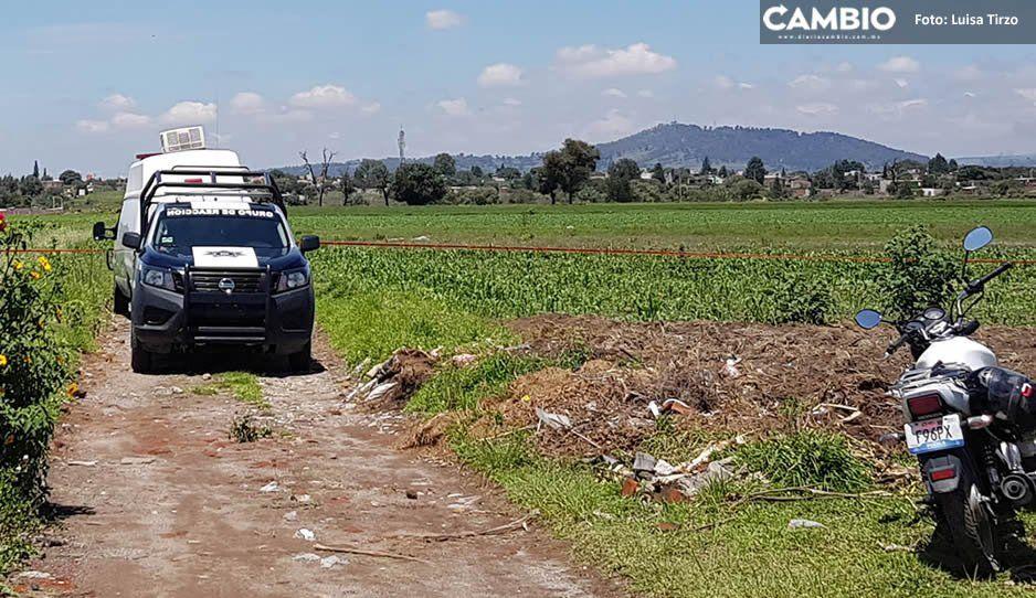 Torturado y con varios impactos de bala, abandonan cuerpo en Coronango (VIDEO)