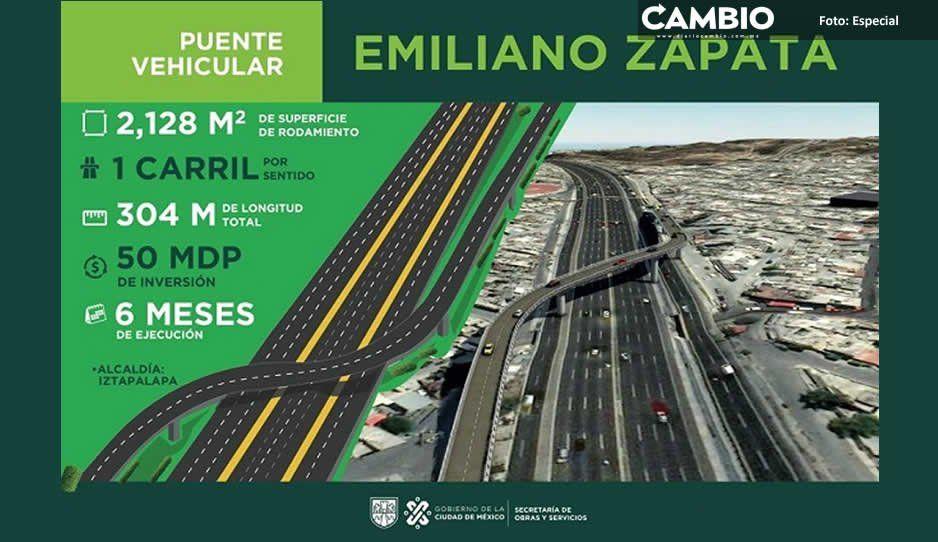 ¿Viajas a CDMX? Habrá trafical diario, construirán puente en la México-Puebla