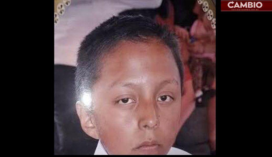 Localizan a Kevin de 13 años en los límites de Tlahuapan con el Estado de México