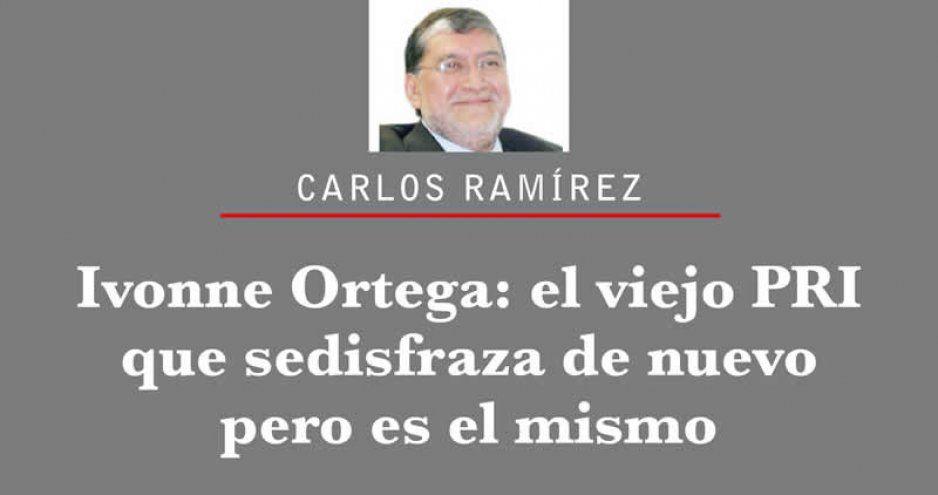 Ivonne Ortega: el viejo PRI que se disfraza de nuevo pero es el mismo
