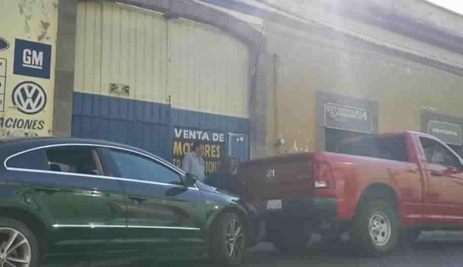 En un taller mecánico de la 18 Poniente guardaron las piezas robadas de San Roque