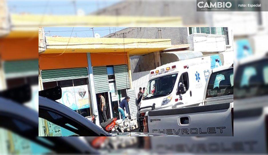 Intento de asalto termina en zafarrancho en Texmelucan: hay heridos