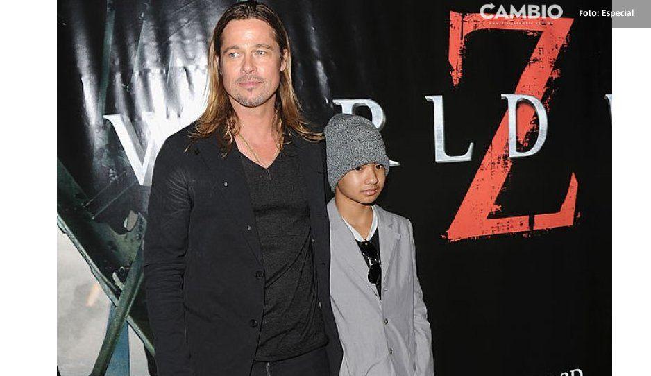 ¡No podía faltar el soplón! Maddox Jolie-Pitt habla sobre su relación con Brad Pitt tras pelea