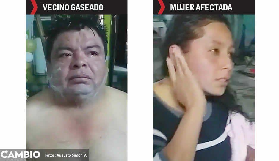 Guardia Nacional gasea a habitantes de  Santa Isabel Tlanepantla en plena feria