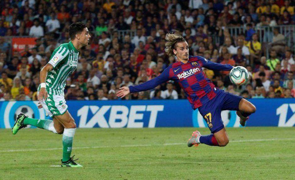El gran Griezmann marca su primer gol en LaLiga con el Barcelona (VIDEO)
