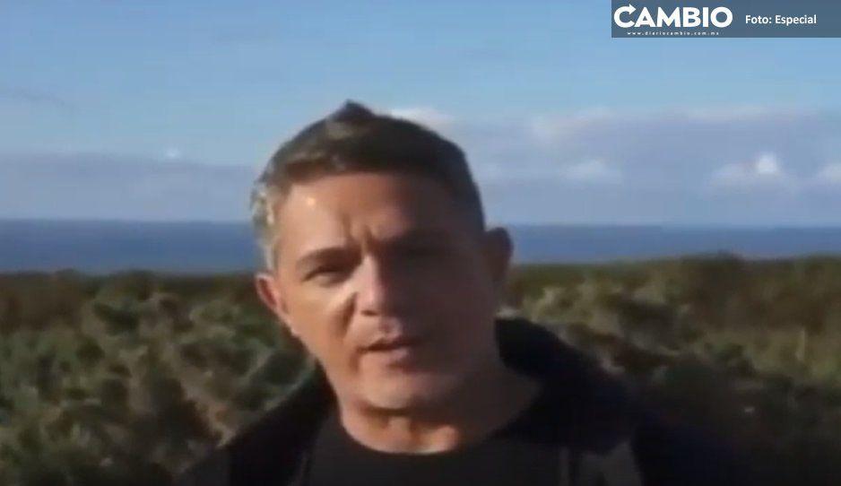 Alejandro Sanz se suma a la lucha a Lydia Cacho; pide protección para la periodista (VIDEO)