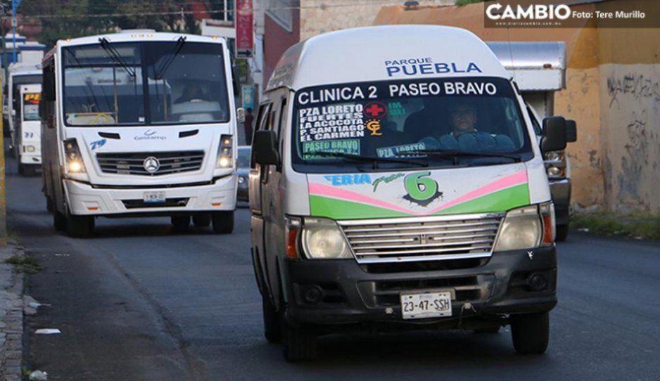 Corralón a unidades de transporte que no estén modernizadas en el plazo acordado, advierte Barbosa