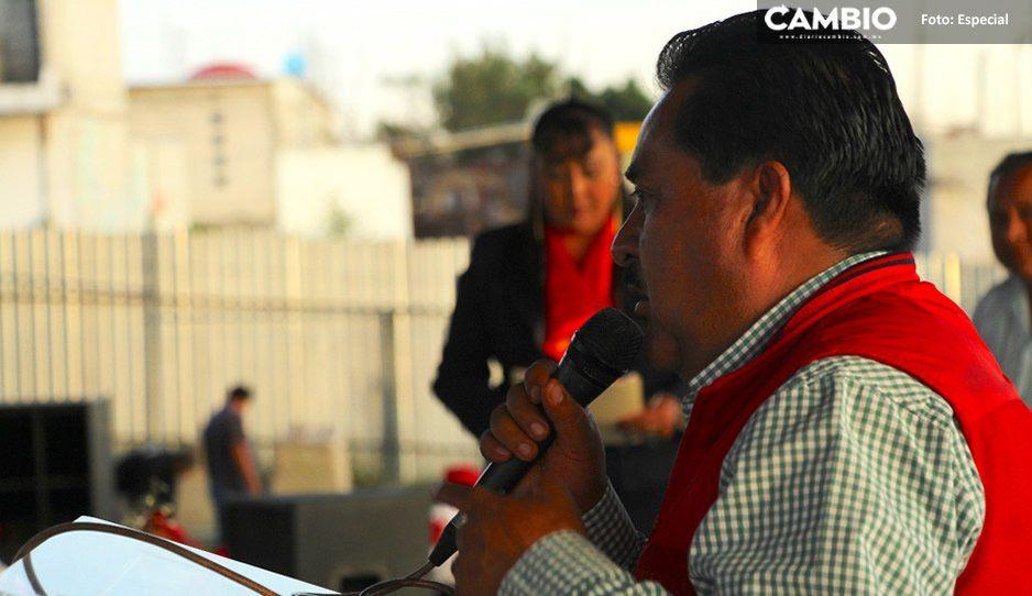 Reprueba presidente de Ocoyucan recorte del PEF 2020