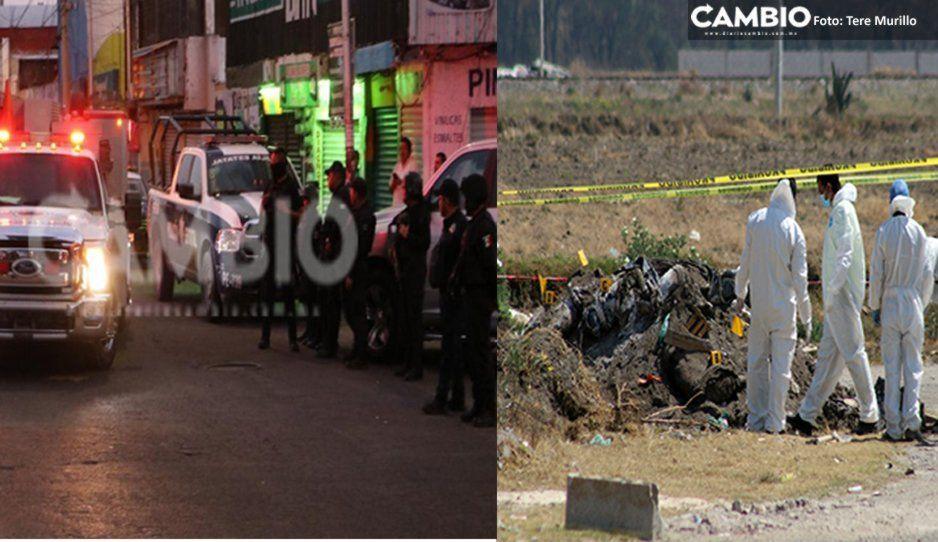 ¡De terror! Hallan narcofosa en el Mercado Morelos; de ahí sacaron los 8 cuerpos y la cabeza de Amozoc