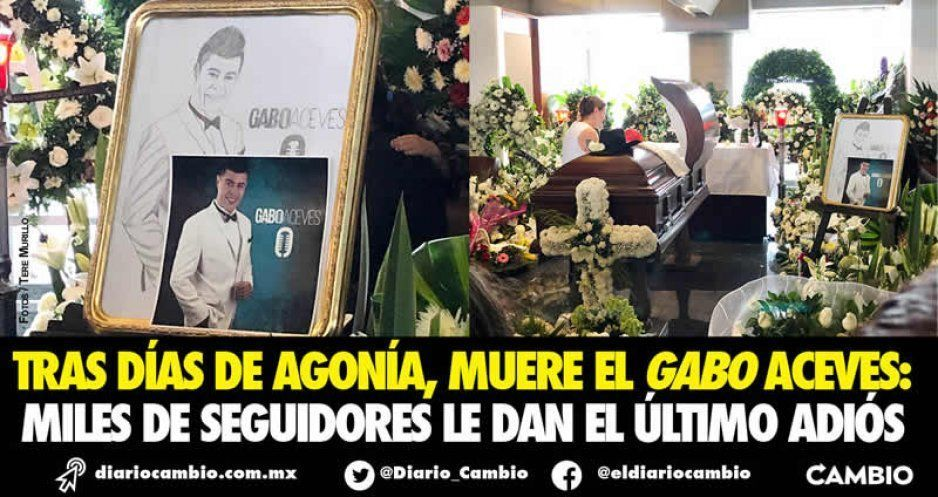 Descanse en Paz Gabo Aceves: se fue el gran locutor  (VIDEO)