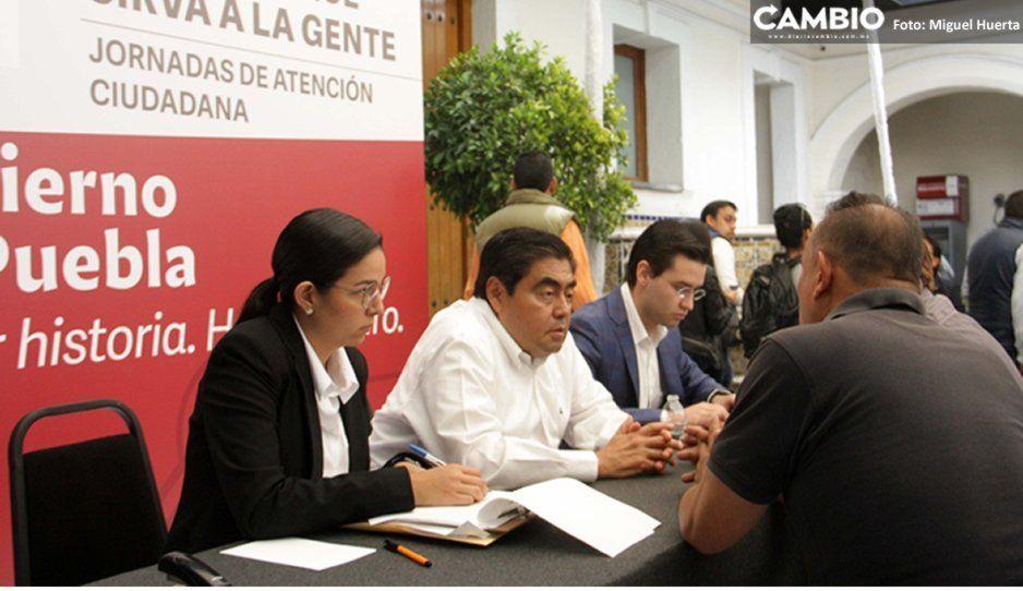 Inicia Barbosa Jornadas de Atención Ciudadana en Casa Aguayo