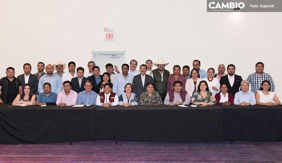 Barbosa se reúne con ediles progresistas para diseñar estrategia de seguridad y obra pública