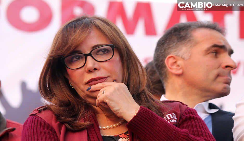 Yeidckol necea: Barbosa será candidato a gobernador y va con todo