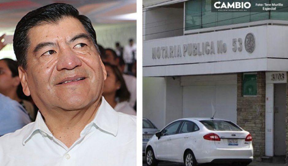 Marín se queda sin notaría: anuncia Barbosa que folios y sellos ya fueron retirados