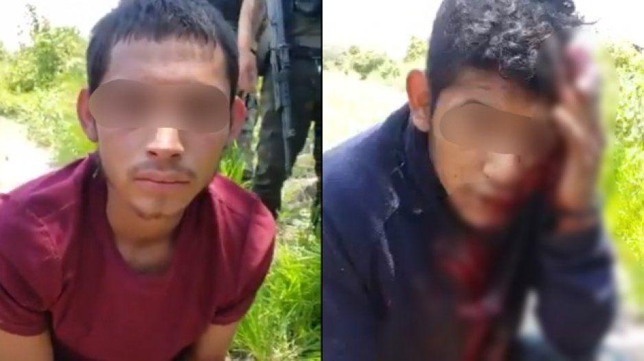 Sicarios del CJNG sueltan la sopa tras ser torturados e interrogados por Autodefensas (VIDEO)