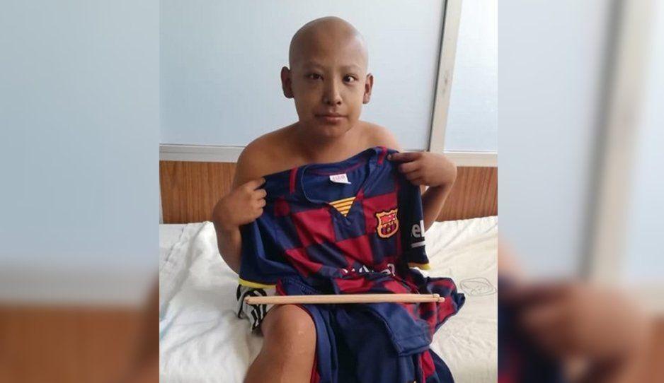 Aldahir necesita sangre y plaquetas ¡Ayúdalo donando en el Hospital San José!