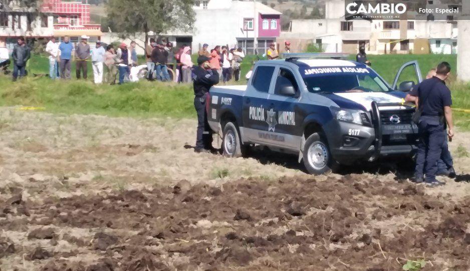 Ejecutado, balacera y enfrentamiento  durante fin de semana en Texmelucan