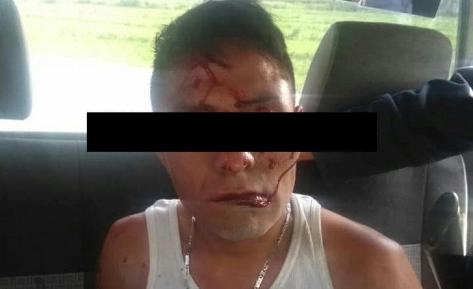 Casi linchan a ladrón en Tepanco de López