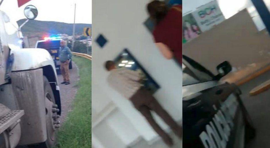 VIDEO: Exhiben como policía pide su mochada y te lleva hasta el cajero