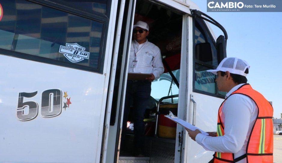 Descarta Aréchiga que transportistas escondan sus unidades por no cumplir con la modernización
