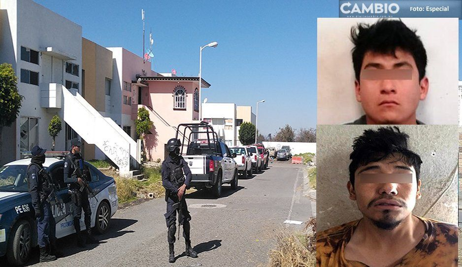 Armas, drogas y tres detenidos, es el saldo tras los cateos de Huejotzingo