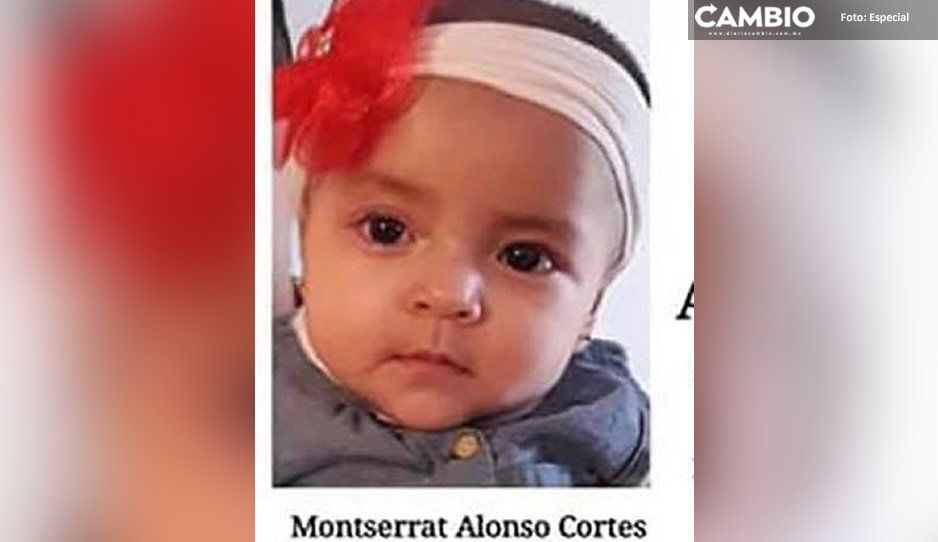 Desaparece bebé Monserrat en Cuautlancingo ¡Ayúdanos a encontrarla!