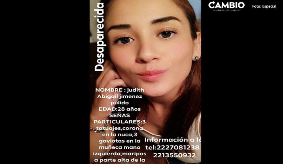 ¡Ayuda a encontrarla! Judith Jiménez Pulido de 28 años desapareció en calles de Puebla