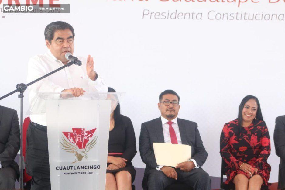 Barbosa pide a ediles hacer buenos gobiernos, pues en 2021 serán medidos en las urnas y no contarán con la efervescencia de AMLO