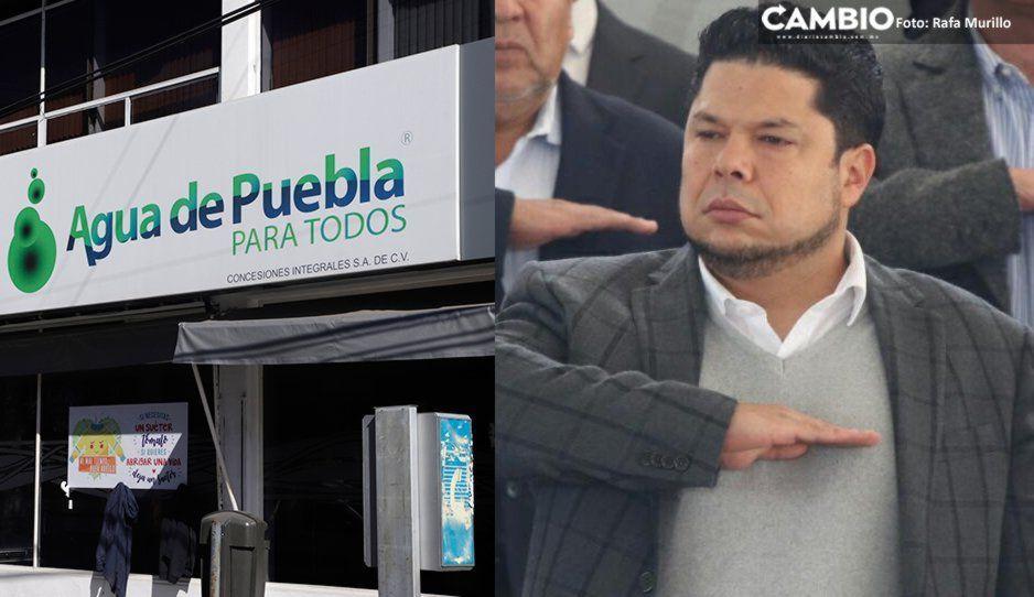 Se acerca el final de Agua de Puebla, advierte Biestro