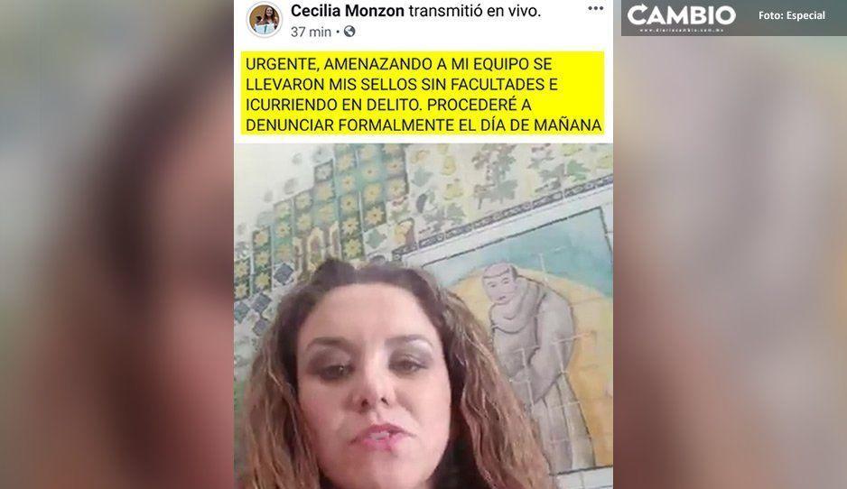 Contralor de Arriaga amaga a subalternos de Cecilia Monzón con quitarles sellos oficiales