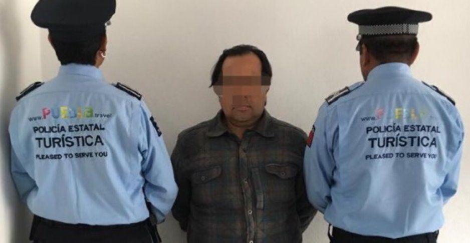 Policía Turística detiene a hombre por violencia familiar, golpeó a su pareja