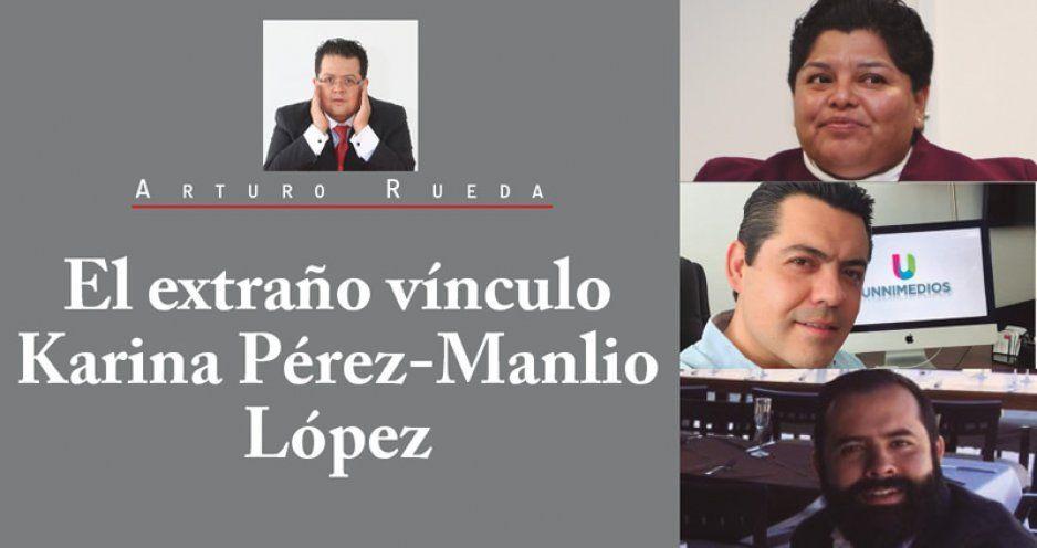 El extraño vínculo Karina Pérez-Manlio López