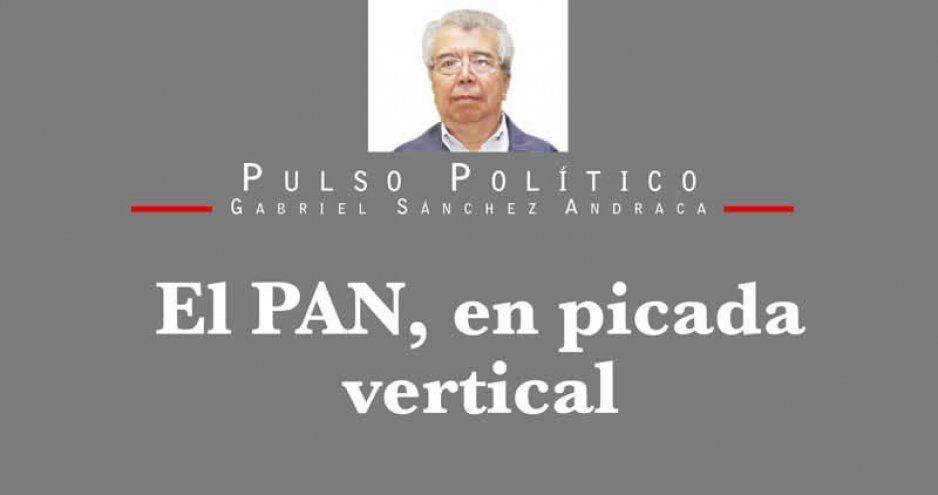 El PAN, en picada vertical