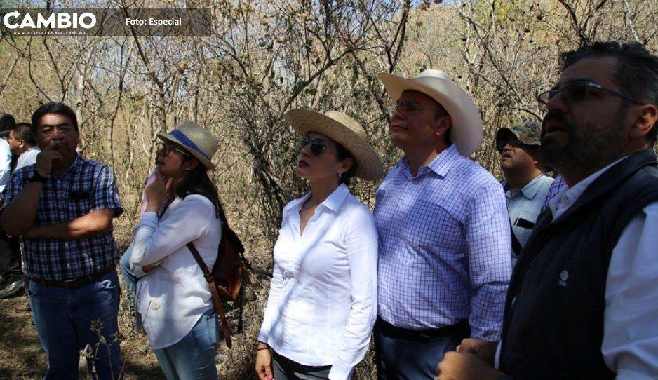 Alcalde Memo Velázquez visita  vestigios prehispánicos en Atlixco