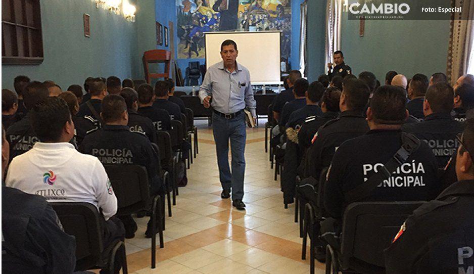 Imparten capacitación a policías sobre linchamientos en Atlixco