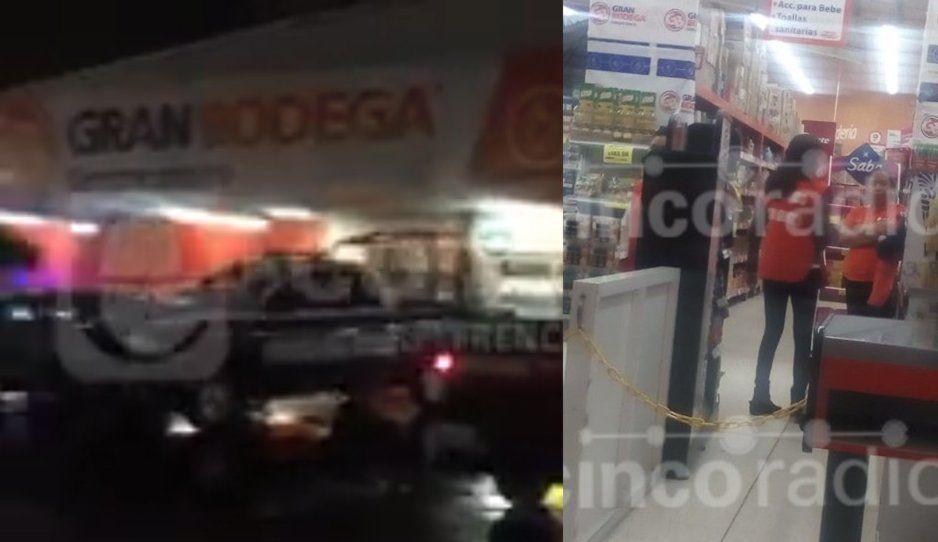 A tiros atracan Coppel de Chapultepec; clientes y trabajadores entraron en pánico (VIDEO)